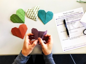 spirit- origami in hand 11.18.18-001